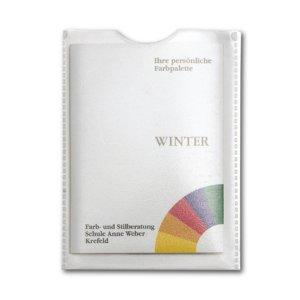 Ihre persönliche Farbpalette Winter